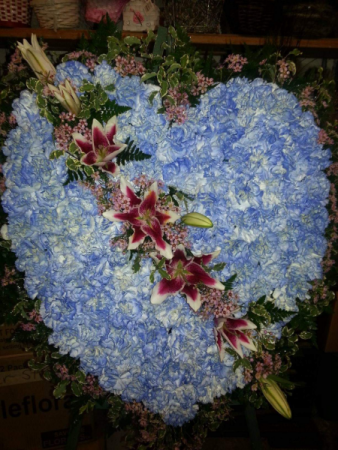 Bluetiful /Lilie  Solid Heart Funeral