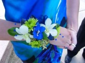 Bold Blue Corsage T&V Exclusive