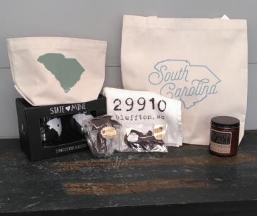 Bluffton,South Carolina Deluxe Gift Set