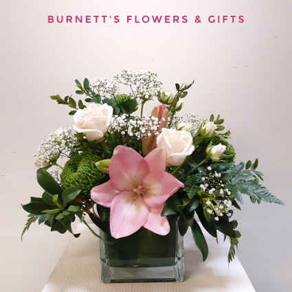Blush Babe Vase Arrangement
