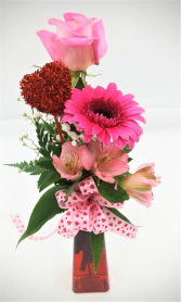 Blush & Bashful Floral Arrangement