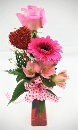 Blush & Bashful Floral Arrangement