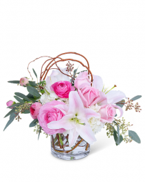 Blush Celebration Flower Arrangement