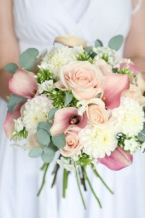 Blush Elegance Brides Bouquet