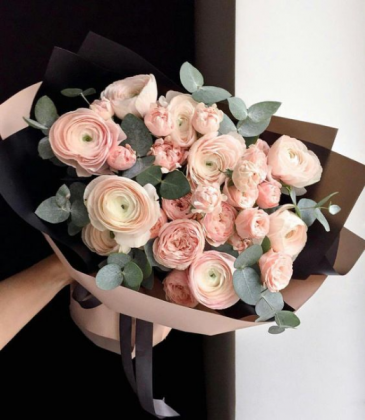 Blush Embrace Bouquet   Next day Delivery