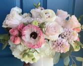 Blush garden bouquet  Bridal  Bouquet