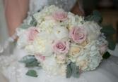 Blush Kiss Handheld Bouquet