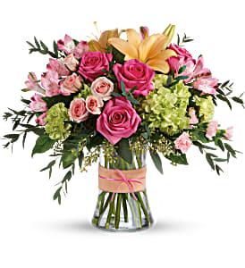 Blush Life Bouquet Fresh arrangenment