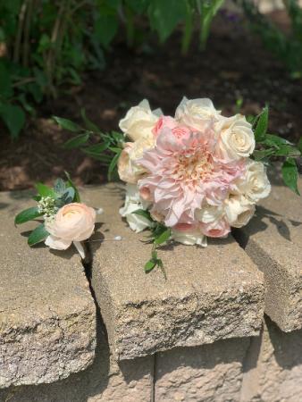Blush Love  Wedding Bouquet
