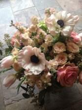 Luxe Blush Vase Arrangement