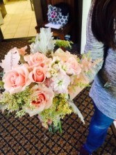 blush majolika bouquet