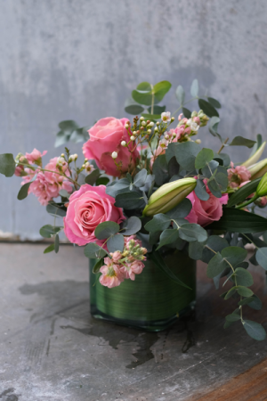Blush Me  Valentine's in Monmouth, OR | PETALS & VINES FLORIST