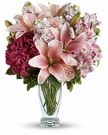 Blush Of Love Bouquet