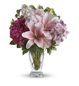 Blush of Love Vase