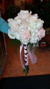Blush Pink Handtied Bouquet