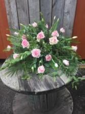 Blush pink pall