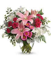 Blush Rush Bouquet by Teleflora
