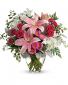 Blush Rush Bouquet by Teleflora