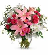 Blush Rush Bouquet Vase