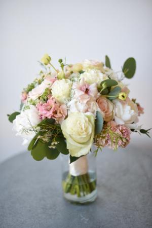 Blush Rush Handtied Bridal Bouquet