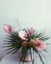 BLUSH SHORE FLOWER ARRANGEMENT
