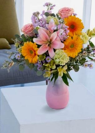 Blush of Spring Vase