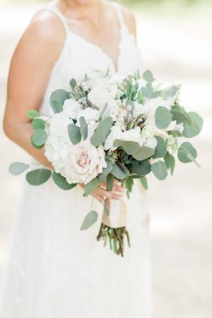 Blush white Bridal Bouquet  Bridal Bouquet