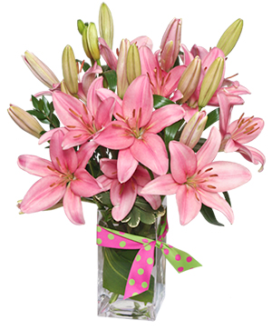 Blushing Beauty Bouquet in Phenix City, AL | BUDS & BLOOMS FLORIST
