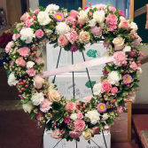 Endless Love Heart Wreath