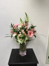 Beautiful Love Vase Arrangement
