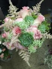 Blushing Beauty  Bridal Bouquet