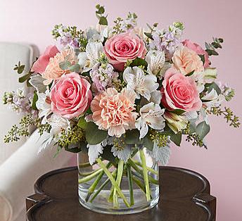 Blushing Blooms™ Bouquet Arrangement