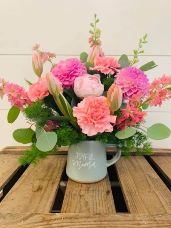 Blushing Blossoms  Floral Arrangement