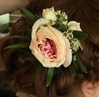 Blushing Bride Bridal Hairpiece