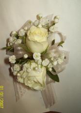 Blushing Elegance Prom Corsage