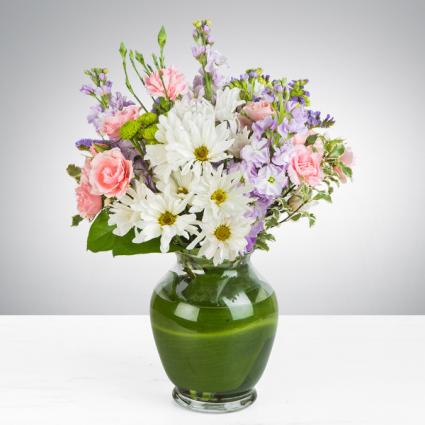 Blushing Field Vase