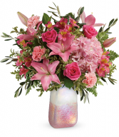 Blushing Gemstone Bouquet Fresh Arrangement