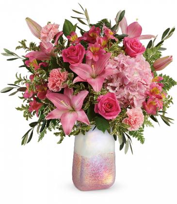 Blushing Gemstone Bouquet Fresh Arrangement