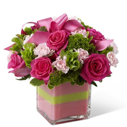 Blushing Invitations Bouquet - B28-4802
