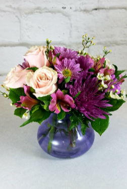 Blushing Lavender Designed by Rosemary in South Milwaukee, WI | PARKWAY FLORAL INC.