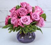 Blushing Lavender  Roses