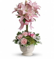Blushing Lillies  TEV25-1A