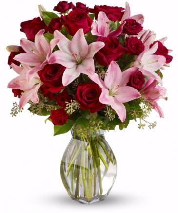 Blushing Love Arrangement