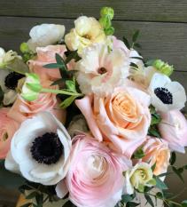 Blushing Palette vase
