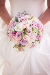 Blushing Pastels Wedding Bouquet