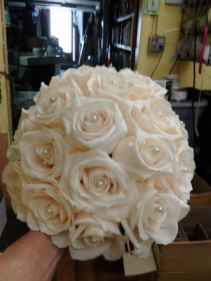 Blushing Pearl Bridal Bouquet
