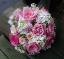 Bouquet*  Blushing Pearls