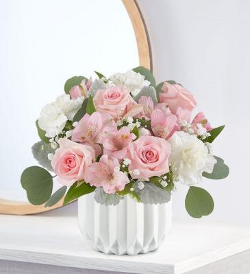 Blushing Pink Flower Bouquet