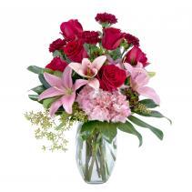 Blushing Rose Arrangement