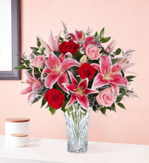 Blushing Rose & Lily Bouquet 176332